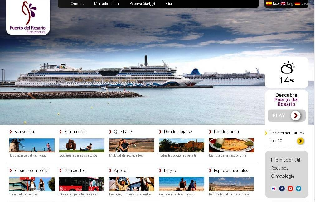 El Ayuntamiento presenta su nueva página de Turismo