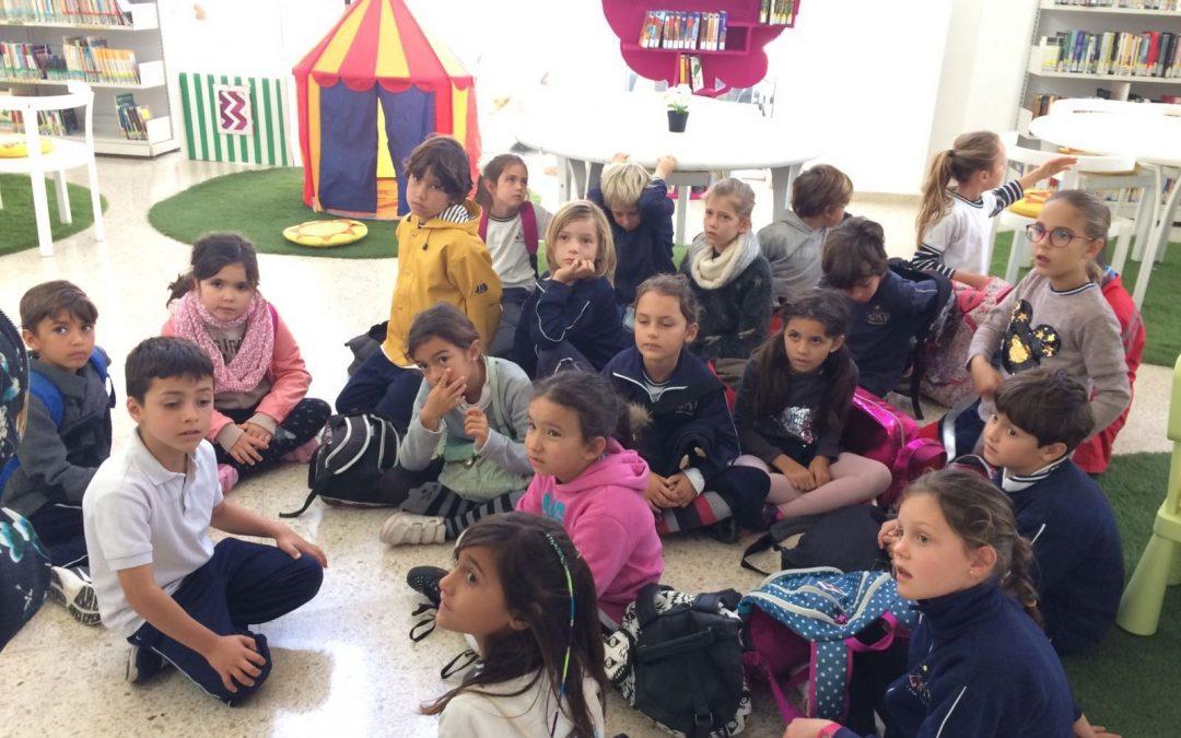 El Colegio de Lajares visita la Biblioteca de Puerto del Rosario