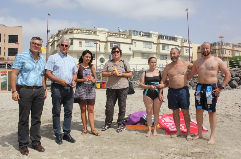 Un verano con protección solar y con unas playas limpias