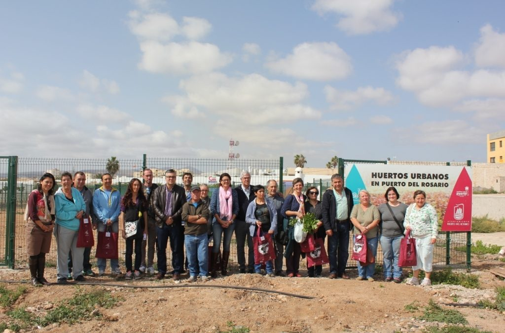 El programa de «Huertos Urbanos» sigue consolidándose en la capital