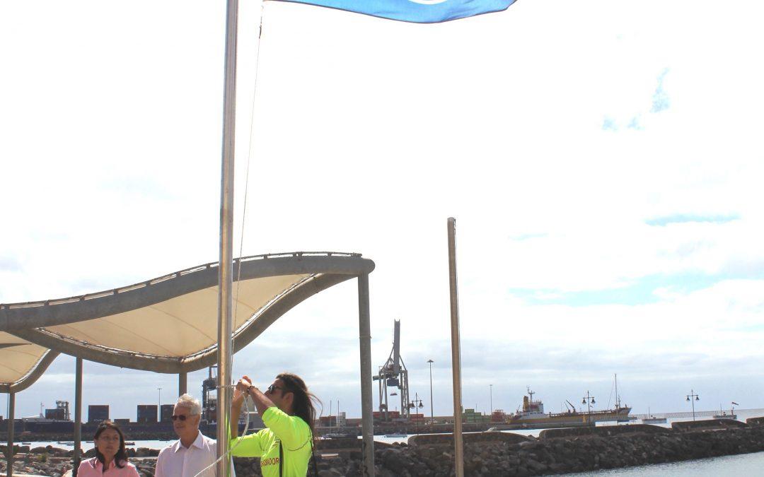 Puerto del Rosario mantiene las tres banderas azules en sus playas
