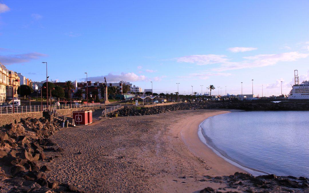 La Playa de Los Pozos lucirá bandera azul este viernes, 26 de junio