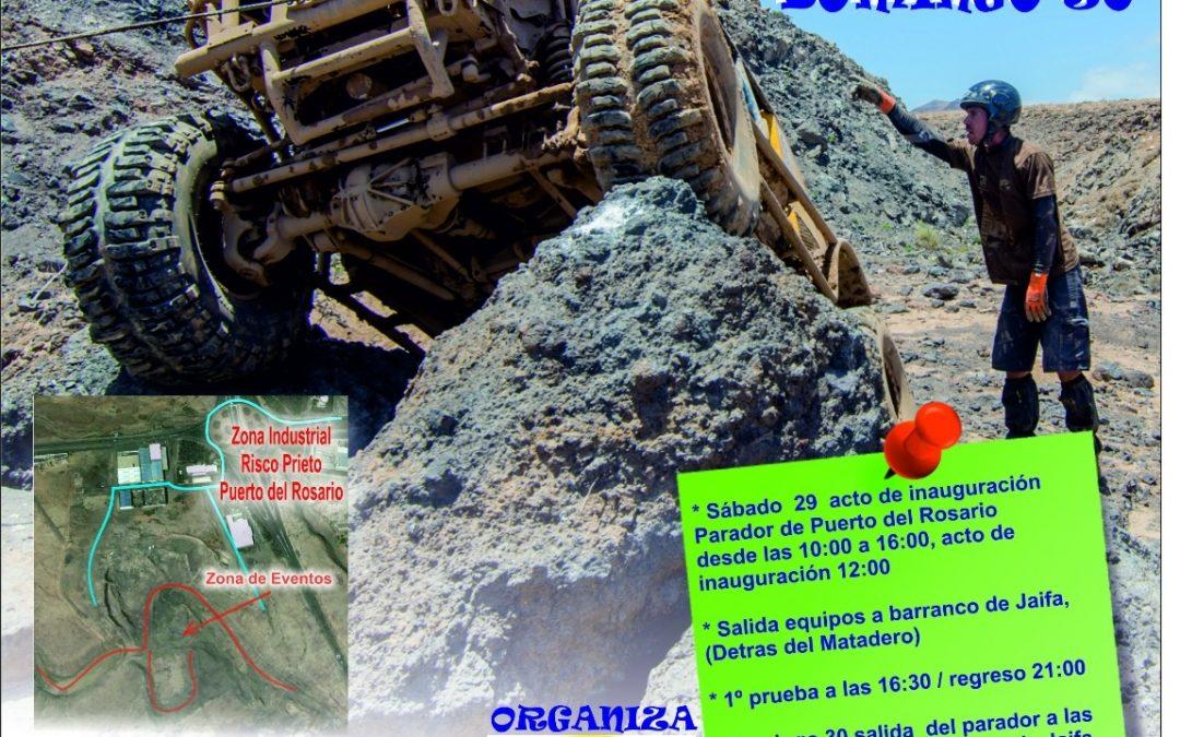 Presentación de la prueba deportiva «Fuerteventura 4×4 Extreme»