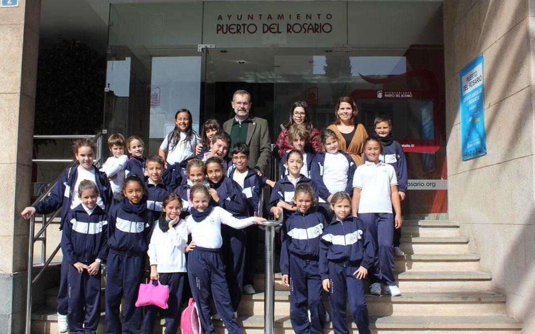 Visita del CEO Sagrado Corazón dentro del programa «Mi Ayuntamiento»