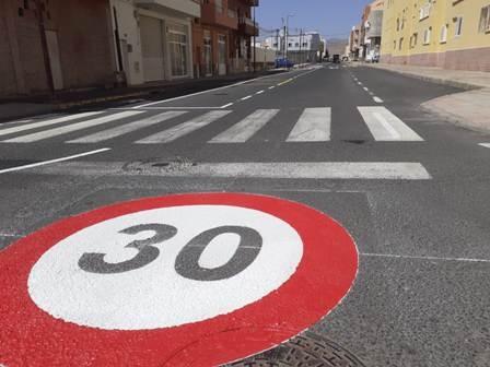 Pto. del Rosario, sumándose a las recomendaciones de la DGT, establecerá el límite de 30 km/h