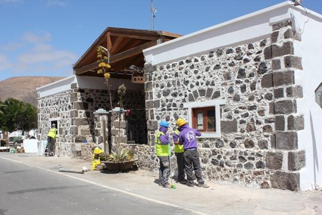 Escuela-Taller La Azada finaliza obras en el Centro Cultural de Guisguey