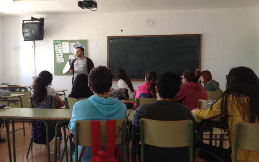 El proyecto sobre prevención de toxicomanías llega a los alumnos de la ESO de Puerto