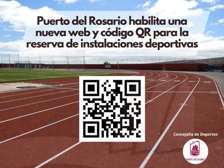 La capital pone en marcha una web y código QR para la gestión de reservas de instalaciones deportivas