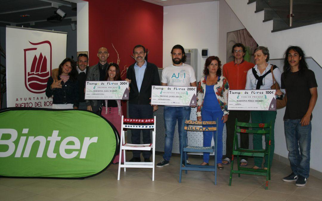 Premiados de la actividad «Pintura en silla».