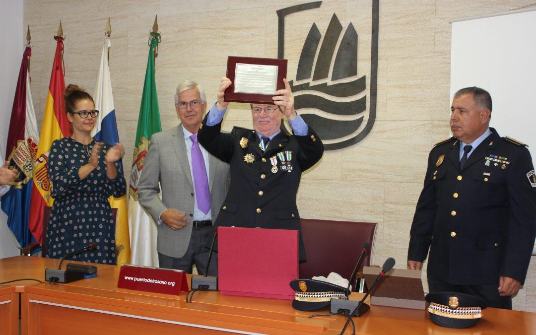 Acto de Reconocimiento al agente de la Policía Local Miguel Angel Mederos