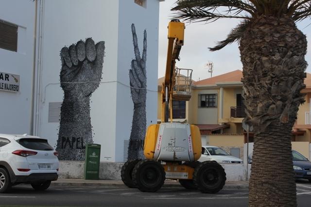 Nuevos Murales de Arte Urbano en Puerto del Rosario