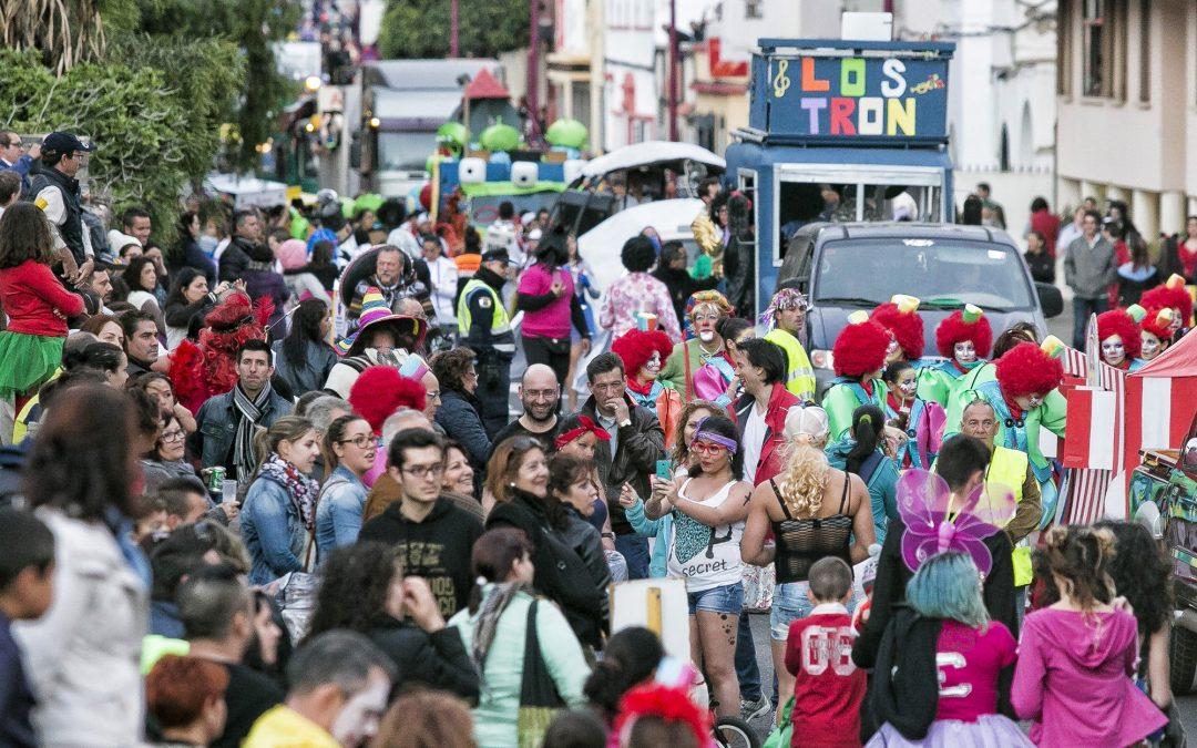 Bases de participación para la Gran Cabalgata de Carnaval 2017
