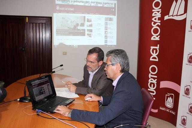 El Ayuntamiento presenta su nueva web con nuevos recursos de servicios al ciudadano