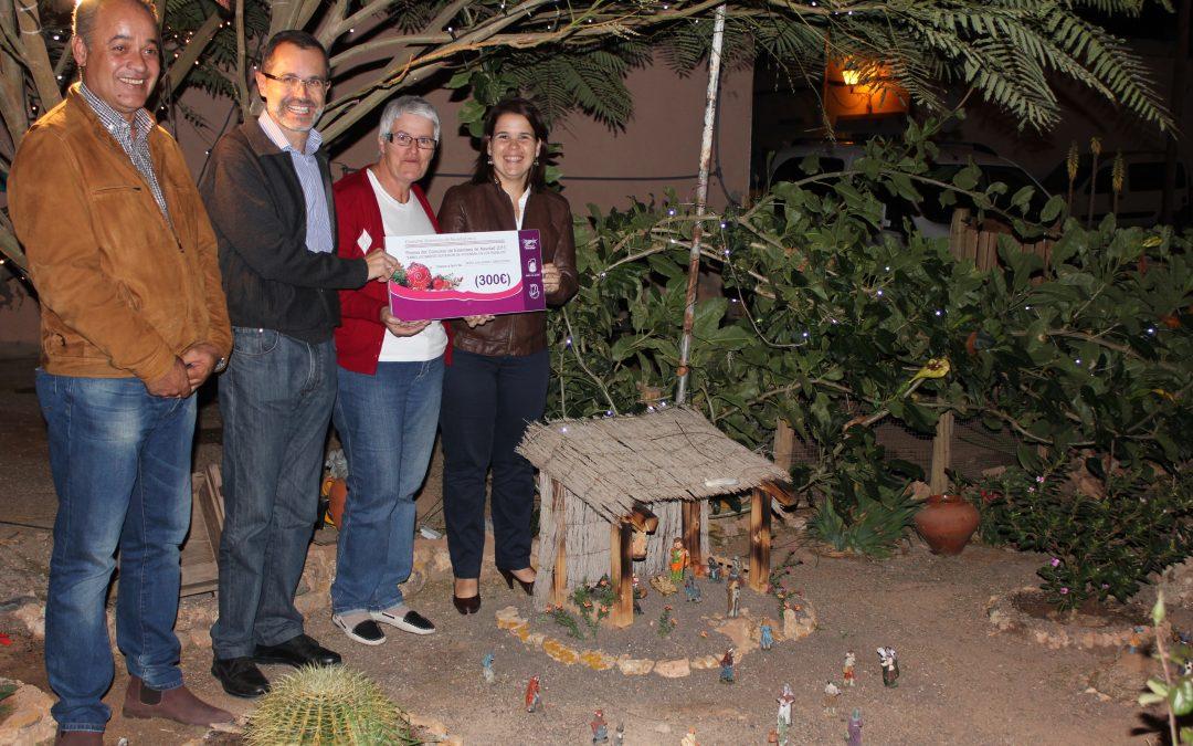 Una familia de Casillas de Angel gana el concurso de Exteriores de Navidad