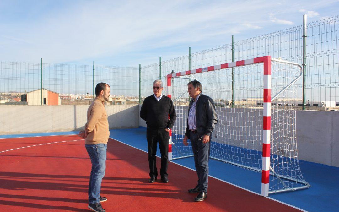 Nueva cancha deportiva para el Barrio de Las Granadas
