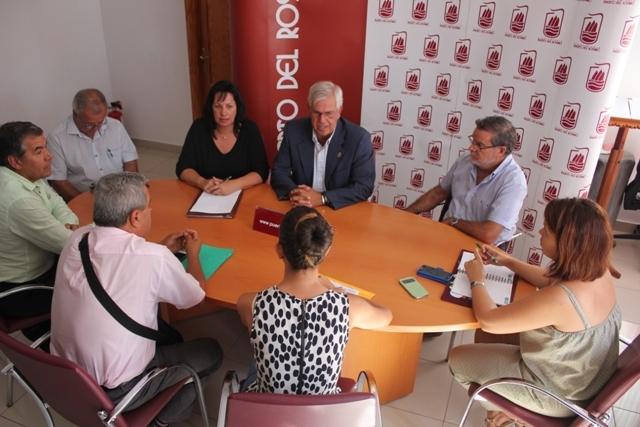 Visita de la consejera de Educación del Gobierno de Canarias a Puerto del Rosario