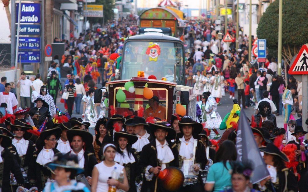 Bases para participar en la Cabalgata Carnavalera del sábado, 21 de febrero