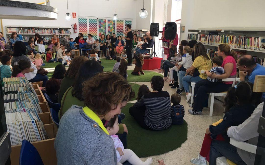 La Biblioteca municipal continúa con su programa continuo de «Cuentacuentos»