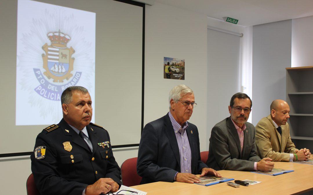 La Policía Local de Puerto del Rosario presenta un año más su memoria anual de servicios