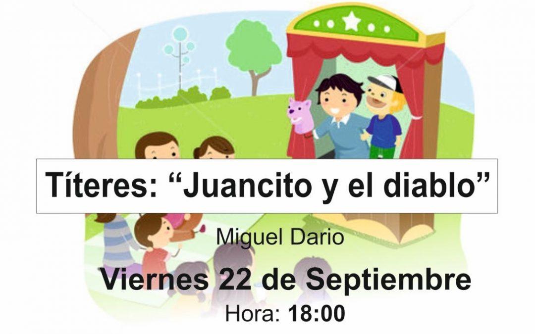 Cuentacuentos para niños este viernes, 22 de septiembre, en la Biblioteca