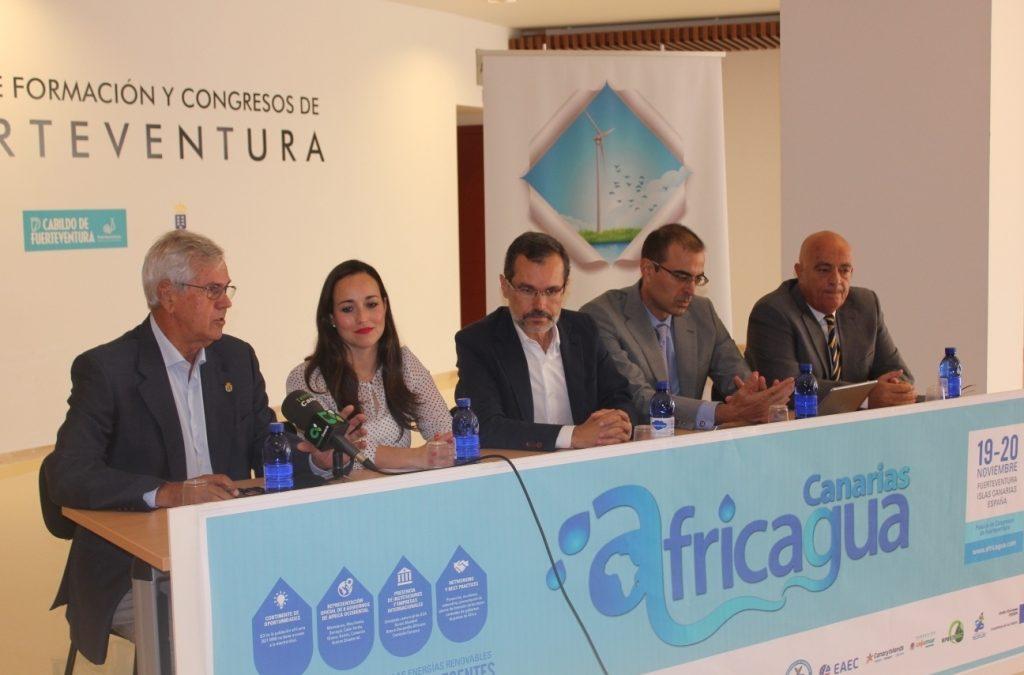 Africagua se celebra en Puerto del Rosario el 19 y 20 de noviembre