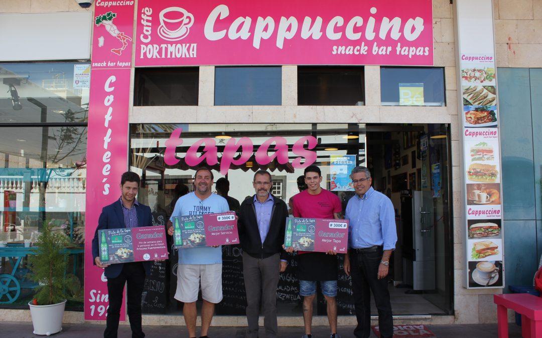 El bar «Cappuccino», premiado en la Ruta de la Tapa.