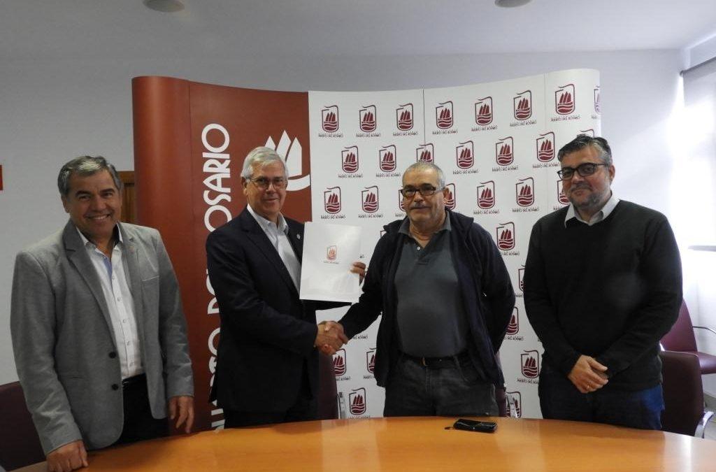 Convenio entre el Ayuntamiento y la Peña de la Amistad para cesión de espacios