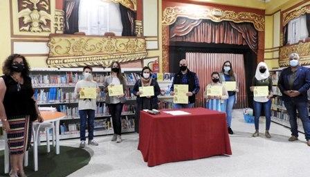 La capital entrega los premios a los ganadores/as del Concurso 'Contamos Olímpicamente Contigo'