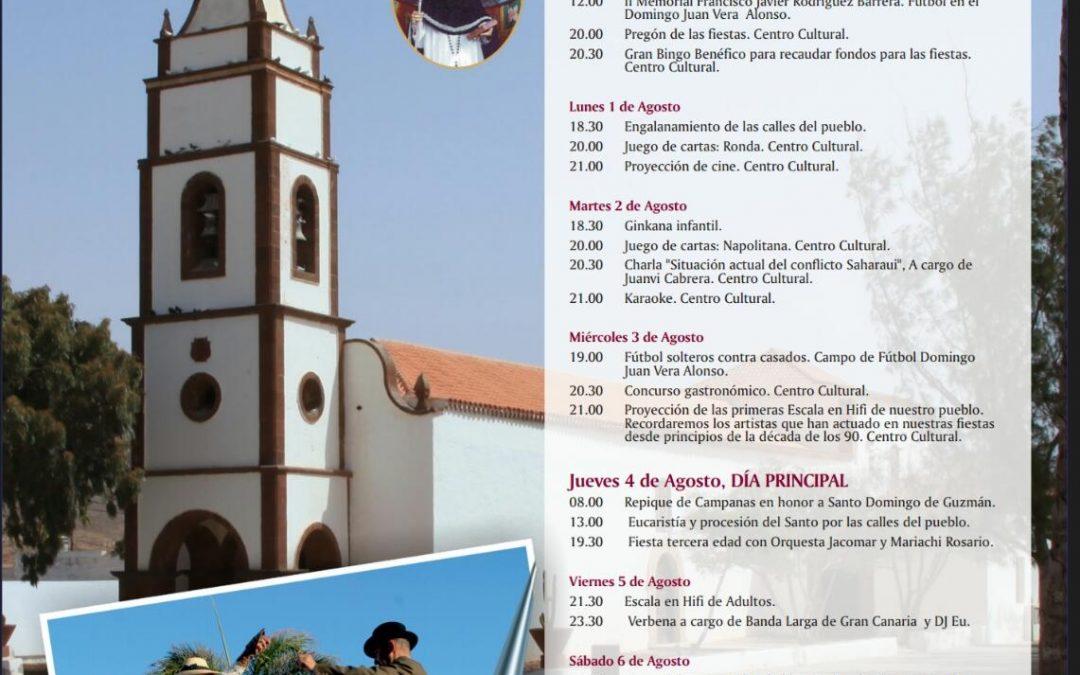 Fiestas de Tetir en honor a Santo Domingo de Guzmán 2016