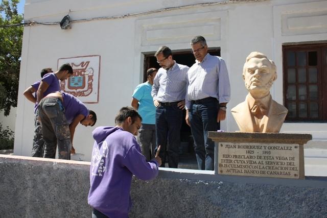 La Escuela Taller La Azada finaliza obras en Tetir