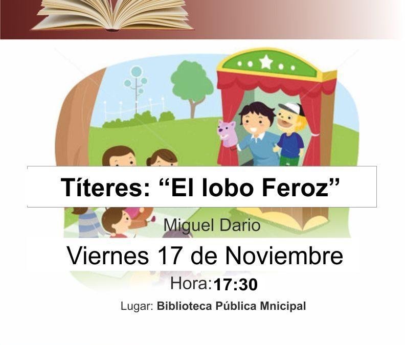 Los títeres vuelven a la Biblioteca con un nuevo cuento para niños
