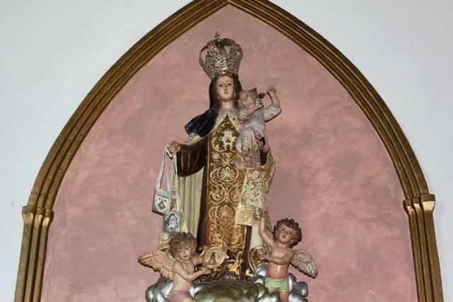 Tradicional procesión de la Virgen del Carmen en Puerto del Rosario