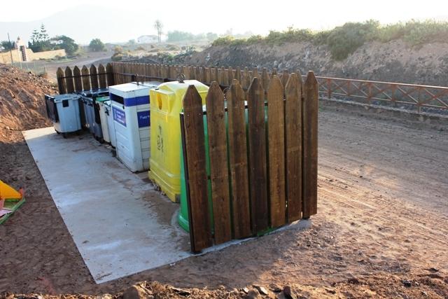 El Ayuntamiento continúa mejorando el servicio de contenedores de residuos