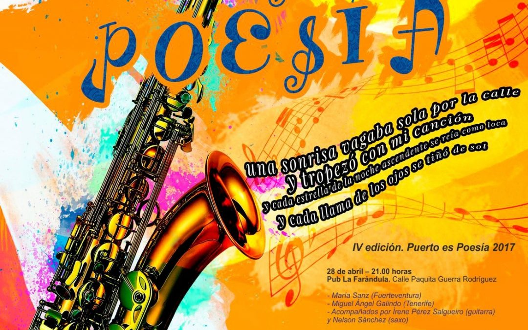 Ultima cita de la temporada con «Puerto es Poesía» en el Bar «Candela»