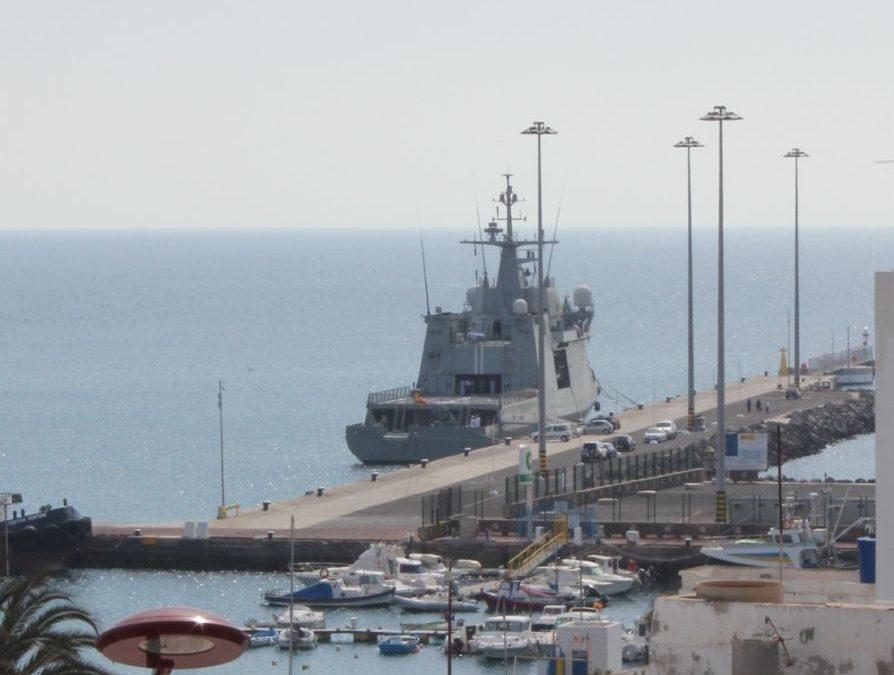 La embarcación militar «Relámpago» podrá ser visitada por el público