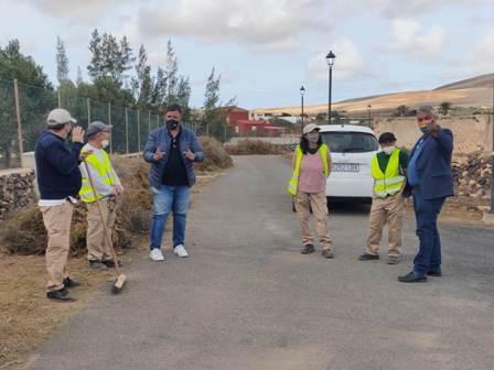 Puerto Brilla II acomete la limpieza y adecentamiento de varios puntos del municipio