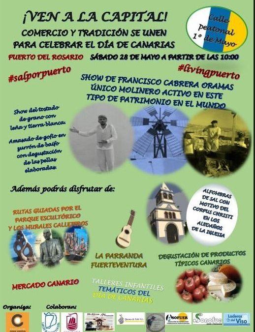 Primero de Mayo vive este sábado su «Día de Canarias»