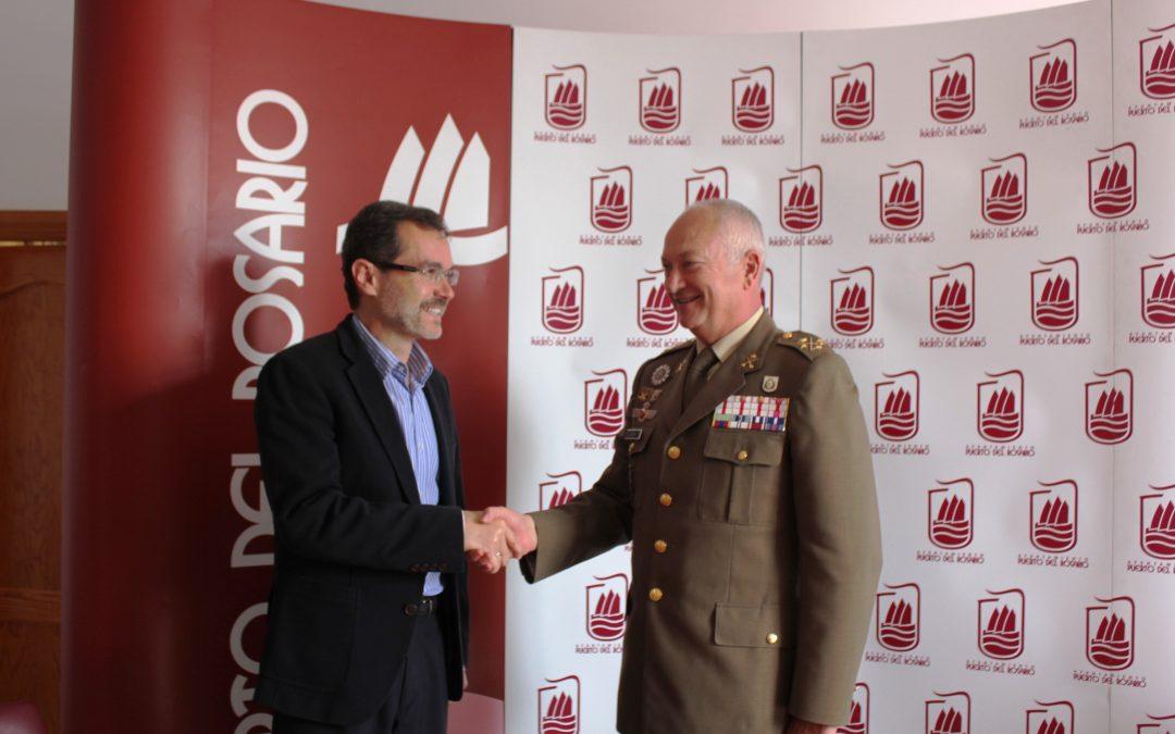 Visita del nuevo Teniente General de Canarias