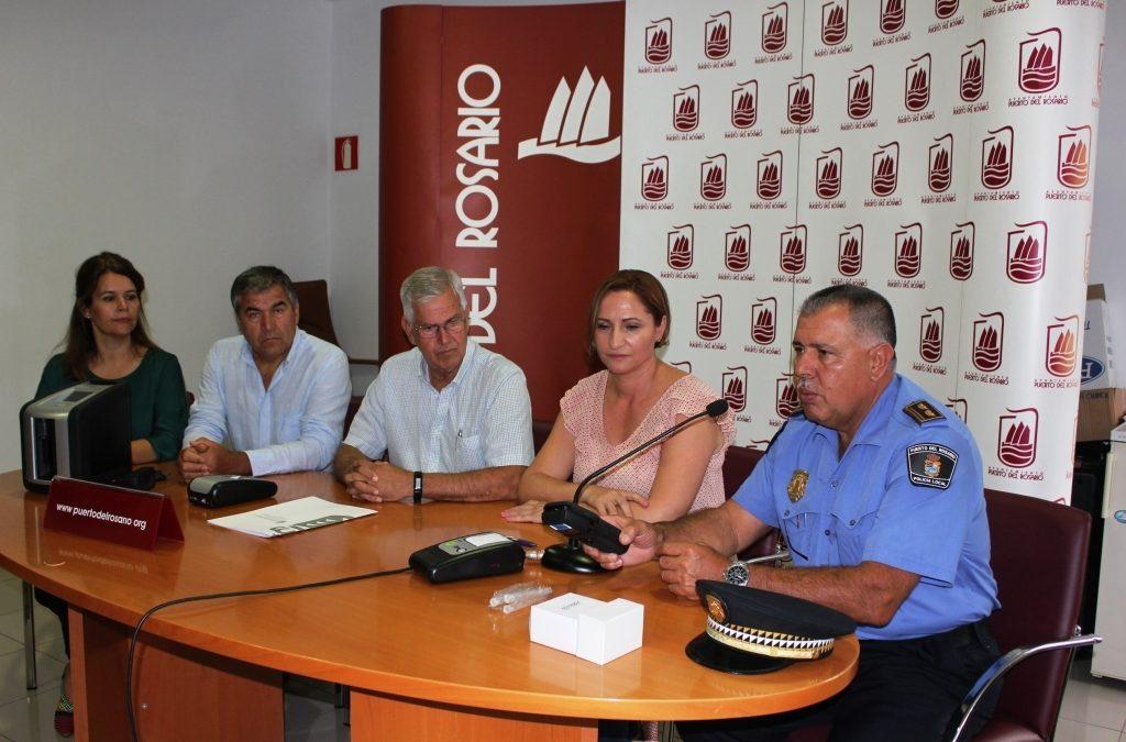 Nuevo etilómetro y Drogotest para la Policía Local de Puerto del Rosario