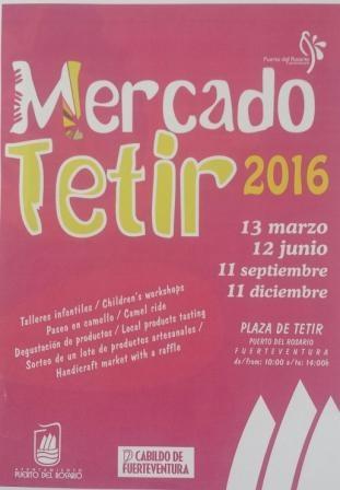 El mercado artesanal de Tetir celebra una nueva edición