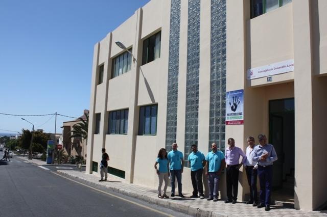 La Escuela-Taller La Azada finaliza las obras en edificio del Servicio Canario de Empleo