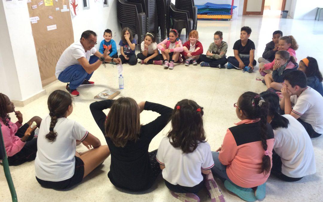Culmina el programa «Cuestión de actitud» con alumnos de 3º y 4º de primaria