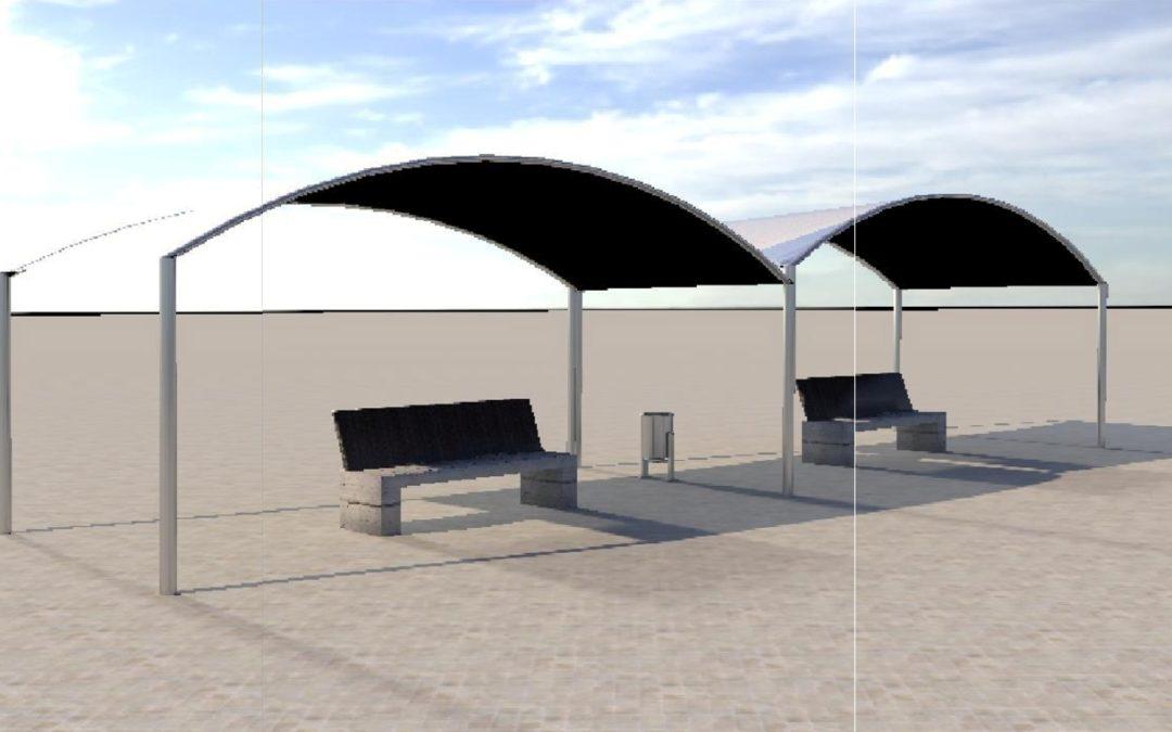 Puerto del Rosario instalará pantallas LED y zonas de sombra bajo el marco del proyecto PITCAN